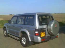 Mitsubishi Shogun, Automatic Petrol, 104 miles 7 SEATER RUNS DRIVES MOT EXPORT CHEAP