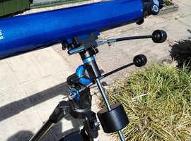 Telescope meade 80 refractor equatorial mount