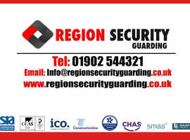 Region Security Guarding   Bespoke Security Services