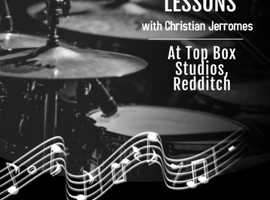 Redditch Drum Lessons with Christian Jerromes