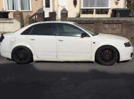 Audi A4, 2003 (52) White Saloon, Manual Diesel, 143,000 miles