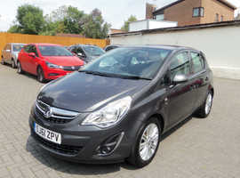 Vauxhall Corsa, 2011 (61) Grey Hatchback, Manual Petrol, 35,000 miles
