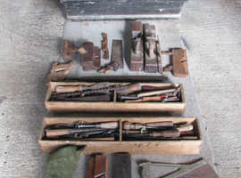 Carpenters chest with tools