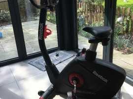Almost new Reebok GB50  exercise bike