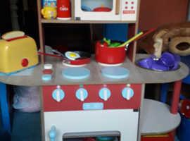 Childs wooden kitchen