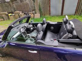 Mini MINI, 2004 (54) Purple Convertible, Manual Petrol, 87,058 miles