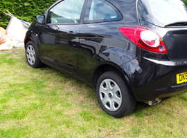 REDUCED Ford Ka, 2014 (64) Black Hatchback, Manual Petrol, 10,900 miles