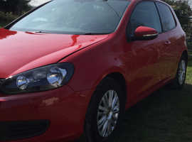 Volkswagen Golf, 2012 (62) Red Hatchback, Manual Petrol, 81,000 miles