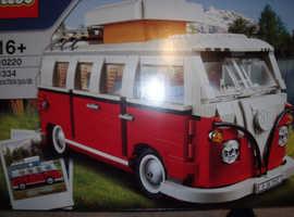 lego campervan 10220 brand new in box