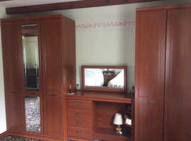 Modern ' wood effect' bedroom furniture