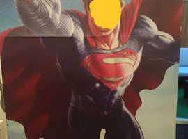 Superman cardboard cut out