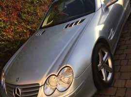 Mercedes SL, 2003 (03) Silver Convertible, Automatic Petrol, 39,874 miles
