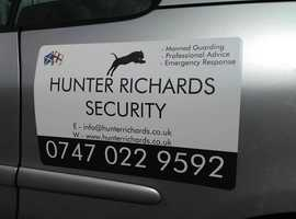Security Services - Glasgow and surrounding areas