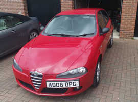 Alfa Romeo 147, 2006 (06) Red Hatchback, Manual Petrol, 85,000 miles