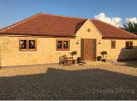 Travellers plot with new bungalow and new chalet for sale  land for sale