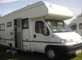 Wanted Diesel Camper Van / Motor Home.