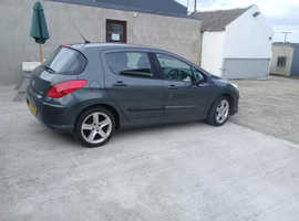 Peugeot 308, 2008 (08) Grey Hatchback, Manual Diesel, 167,687 miles