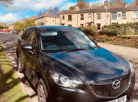 Mazda CX-5, 2015 (15) Grey Estate, Automatic Diesel, 78,000 miles