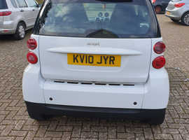 Smart Fortwo Coupe, 2010 (10) White Coupe, Automatic Petrol, 41,624 miles