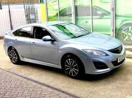 Mazda MAZDA 6, 2010 (60) Blue Hatchback, Automatic Petrol, 110,000 miles