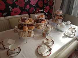Traditional English Tea parties