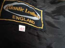 Vintage Atlantic Leather Men's Trousers (SUED)