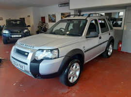 Land Rover Freelander, 2004 (54) Silver Estate, Manual Petrol, 79,618 miles