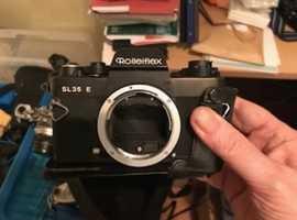 Rolleiflex SL35 E camera body (three bodies)