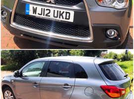 ****BARGAIN**** Mitsubishi Asx, 2012 (12) Grey Hatchback, Manual Petrol, 59,963 miles