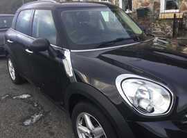 Mini Countryman, 2011 (11) black hatchback, Manual Petrol, 72500 miles