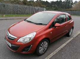 Vauxhall Corsa, 2013 (13) Orange Hatchback, Manual Petrol, 46,316 miles