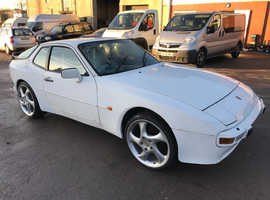 Porsche 944, 1988 (F) White Coupe, Manual Petrol, 112,000 miles