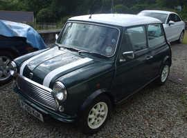 Rover Mini, 1997 (P) Green Saloon, Manual Petrol, 30,351 miles
