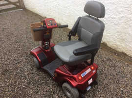 Mobility scooter, 21.5 stone weight, pneumatic wheels.