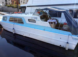 27ft canal/river cruiser