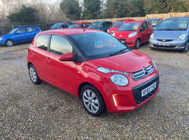 Citroen C1, 2015 (65) Red Hatchback, Manual Petrol, 53,350 miles