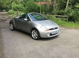 Ford StreetKa, 2004 (54) Silver Convertible, Manual Petrol, 73,540 miles