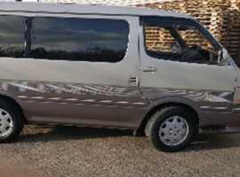 Toyota Hiace, 2002 (51), Automatic Petrol, 92,000 miles