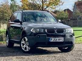 BMW X3, 2004 (54), Automatic Petrol, 124,585 miles