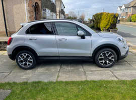 Fiat 500X, 2017 (17) City Look Grey Hatchback, Semi auto Diesel, 24,948 miles