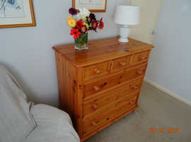 Chest of draws   plus   bedside chest