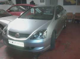 Honda Civic, 2005 (05) Silver Hatchback, Manual Petrol, 129,000 miles