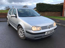 Volkswagen Golf, 2001 (Y) Silver Hatchback, Manual Petrol, 108,442 miles
