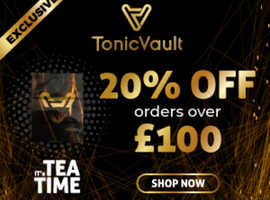 100% Organic CBD and Hemp Products. Only at Tonic Vault.