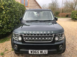 Land Rover Discovery, 2015 (65) Green Estate, Automatic Diesel, 48,400 miles