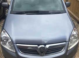 Vauxhall Zafira, 2010 (10) Silver MPV, Manual Diesel, 98,000 miles