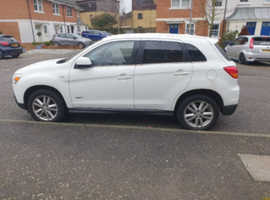 Mitsubishi Asx, 2011 (60) White Hatchback, Manual Diesel, 113,000 miles