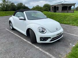 Volkswagen Beetle, 2018 (18) White Convertible, Manual Diesel, 13,455 miles