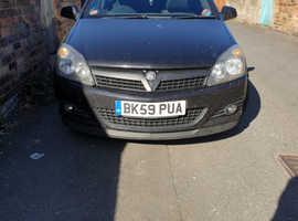 Vauxhall Astra, 2009 (59) Black Hatchback, Manual Diesel, 130,000 miles