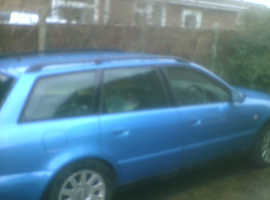 Audi A4, 1999 (V) Blue Estate, Manual Petrol, 170.000